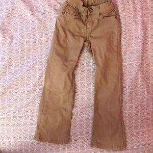 Sonoma Lifestyle beige pants.Girls size 6